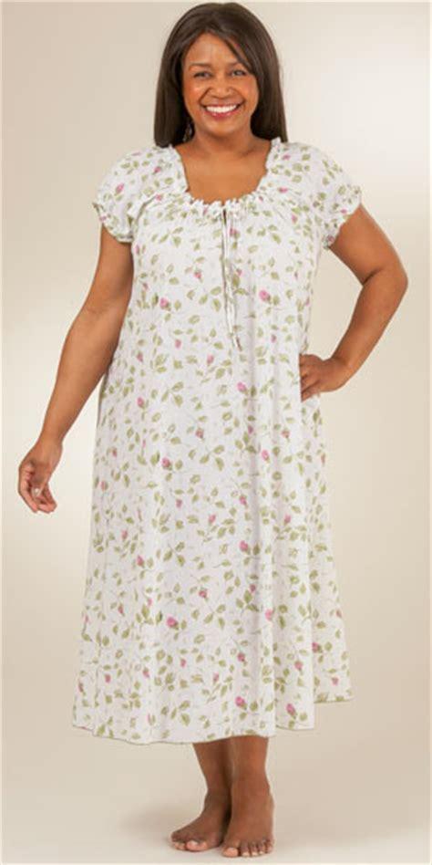 cotton house dresses plus size serene comfort