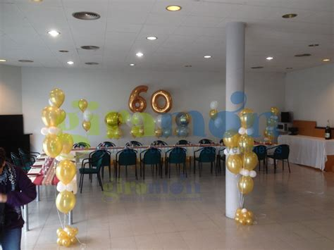 decoracion para aniversarios decoraci 243 n con globos 60 aniversario giram 243 n giram 243 n