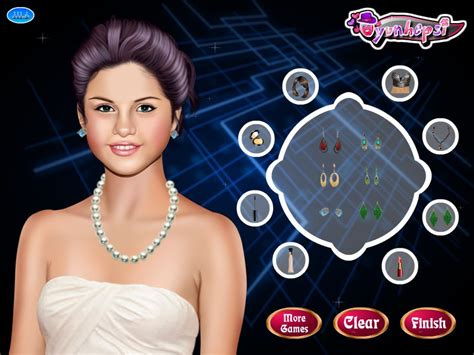 haircut games selena gomez hairdo games for selena gomez triple weft hair extensions
