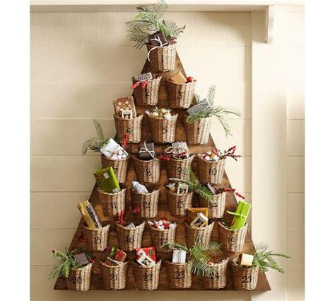 pottery barn tree tree advent calendar pottery barn