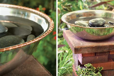 how to build a birdbath
