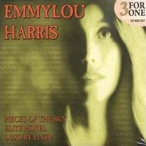 Box Set Harris emmylou harris 3 for 1 box set