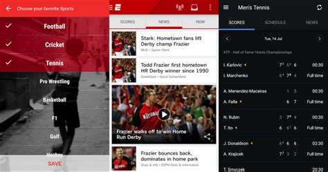 best sports app for android top 5 sports apps for indian fans android the www