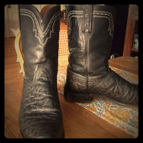 elephant skin boots 18 luchesse other sz 12 s lucchese elephant