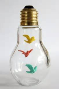 Light Bulb Hanging Vase Diy Decoration From Bulbs 120 Craft Ideas For Old Light