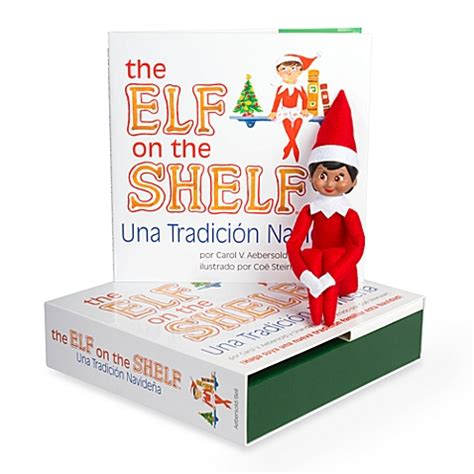 On The Shelf Book Set by The On The Shelf 174 Una Tradicion Navidena Book Set With
