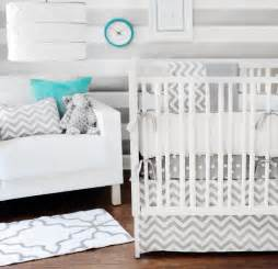 Baby Bedding Set Chevron Bedding In The Nursery Or Toddler Room