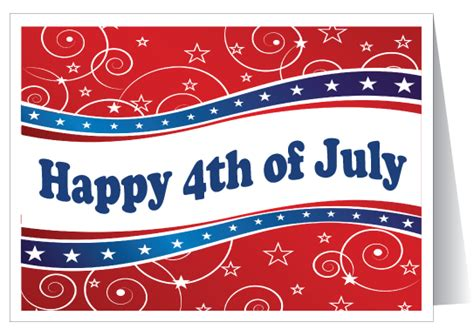 Fourth July Birthday Cards American July 4th Greeting Card 11050 Ministry