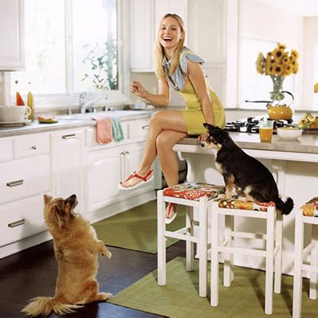 kristen bell home celebrity kitchens apartments i like blog