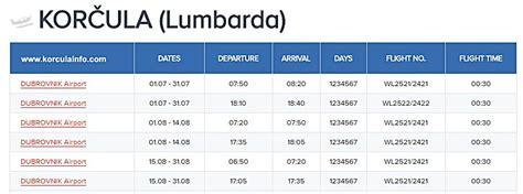 ferry dubrovnik to hvar timetable flights dubrovnik to korcula korculainfo