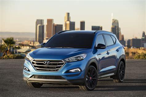 Hyundai Tucson Quot Night Quot Model At 2016 Sema Show