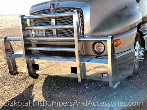 kenworth truck bumpers dakota hills bumpers accessories kenworth aluminum truck