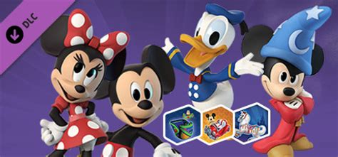 disney infinity friends disney infinity 3 0 mickey and friends character pack on