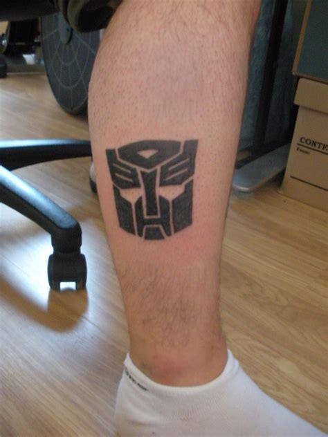 autobot tattoo autobot logo by vinyard83 on deviantart