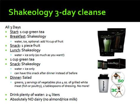 Gi Lean 3 Day Detox Results by 1000 Ideas About Shakeology 3 Day Cleanse On