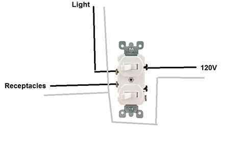how to hook up a light switch how to hook up a double light switch diagram efcaviation com