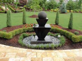 landscape fountains home design
