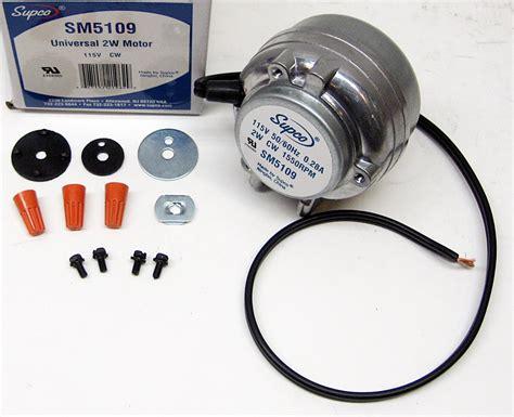 how to test dehumidifier capacitor wp5109 2 watt refrigerator condensor fan motor for whirlpool kenmore 833697