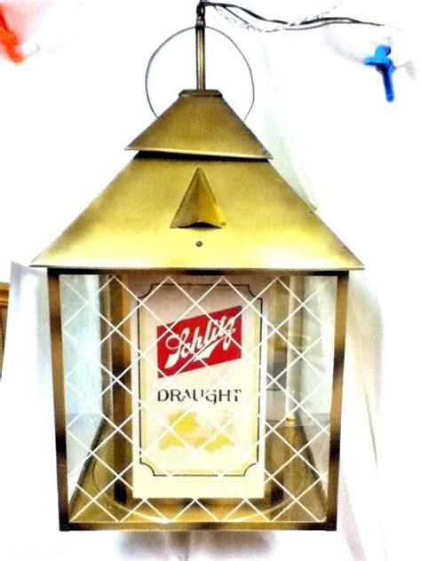 olympia beer pool table light shop vintage hanging beer light