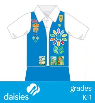 where to place insignia girl scouts