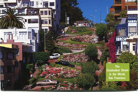 lombard st san francisco ca usa california remembering letters and postcards page 2