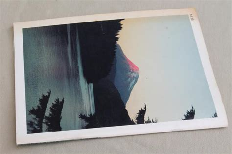 Midcentury Modern Bar - mt st helens photo book 1980 volcano eruption mountain before during after