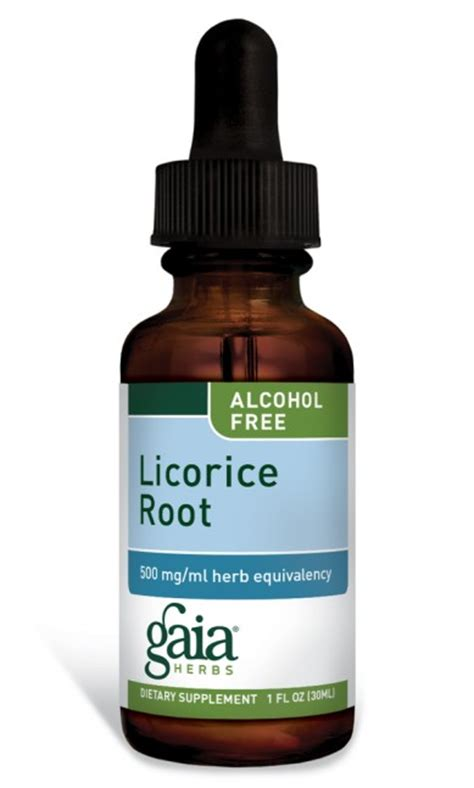Licorice Detox by Licorice Root Vegetable Glycerin Extract Gaiaherbs