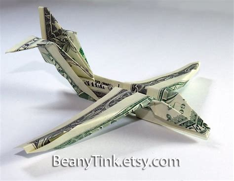 Dollar Origami Plane - paper planes what does that to make it paper