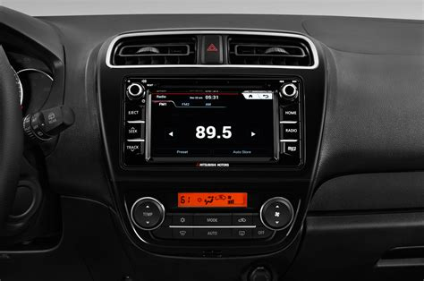 mirage mitsubishi interior 2017 mitsubishi mirage radio interior photo automotive com