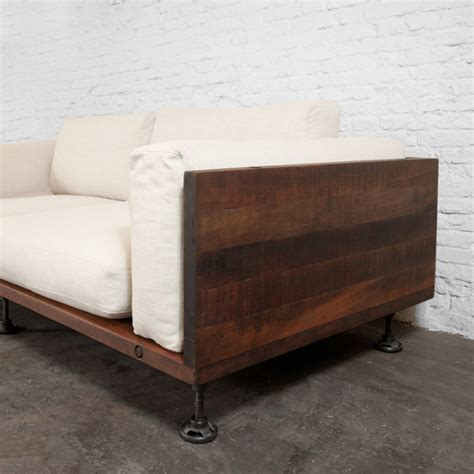 industrial couch industrial furniture such such mad about the house