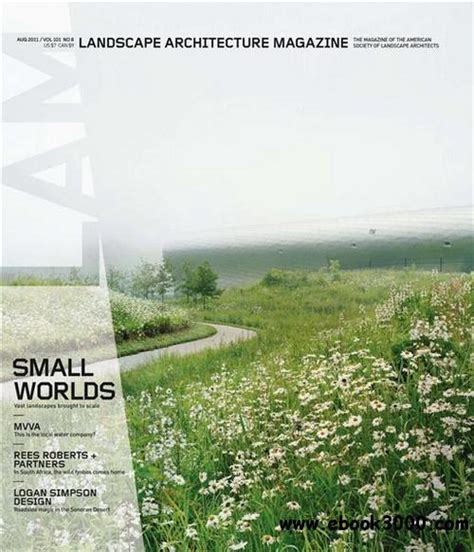 Landscape Architecture Magazine Free Landscape Architecture Magazine August 2011 Free