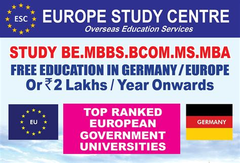 Top Ranking Mba In Europe by Europe Study Centre