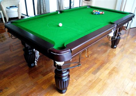 how to clean a pool table anyclean