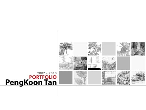 Home Interior Design Book Pdf by Pengkoon Tan Landscape Architecture Portfolio 2010