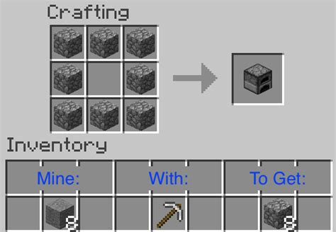 How To Make Paper Look Without Oven - 3 easy ways to make a furnace in minecraft with pictures