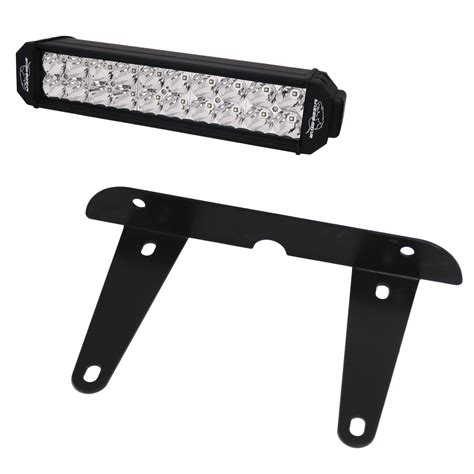 License Plate Bracket With Light by Lazer Lights License Plate Brackets Allow For