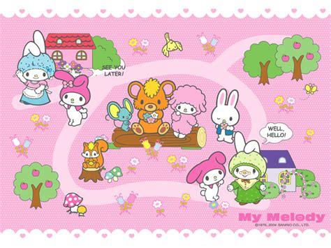 Wallpaper Gambar My Melody 2 sanrio wallpaper