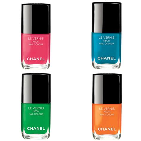 Neon Nail by Chanel Le Vernis Neon Nail Color Beautyalmanac
