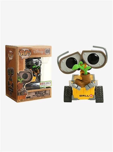 Limited Stock Wall E Figure Set funko pop disney pixar wall e earth day vinyl figure boxlunch exclusive boxlunch