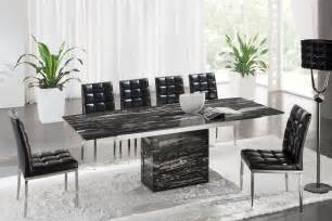 awesome Glass Extending Dining Table Sets #8: D214_black.jpg