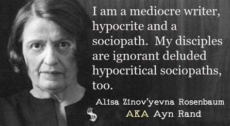Ayn Rand Meme - sociopath people quotes quotesgram