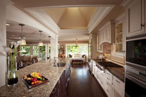 inspiration great room kitchen designs