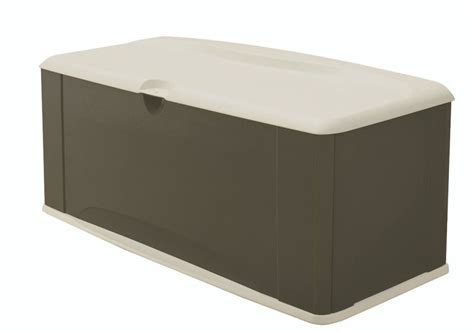deck box rubbermaid 5e39 large deck box with seat review