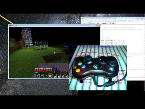 glovepie tutorial keyboard how to play minecraft pc version with xbox controller and