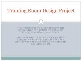 Room Blueprint Training Room Design Project