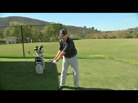 golf swing release golf swing release stage 3 to a proper release
