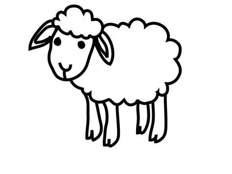 clipart de ovejas para colorear imagui dibujo ovejita imagui