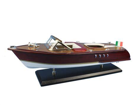 speed boat wooden buy wooden riva aquarama model speed boat 20 inch ship