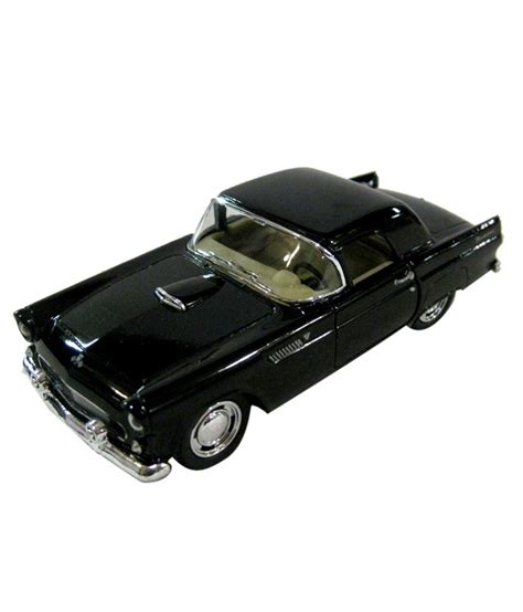 Kinsmart Ford Thunderbird kinsmart diecast 1 36 scale 1955 ford thunderbird black