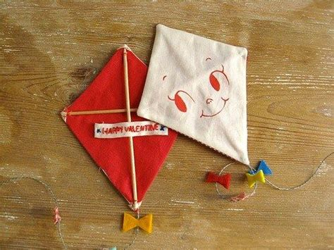 Handmade Kite - is in the air with handmade kite valentines